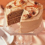 Walnut Cake with Mocha Frosting