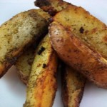 Dill Potato Wedges