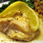halibut-lemon