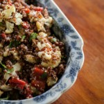 Roasted Cauliflower and Quinoa Salad with Toasted Nuts