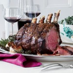 Standing Rib Roast with Horseradish Cream