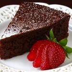 Velvety Flourless Chocolate Cake
