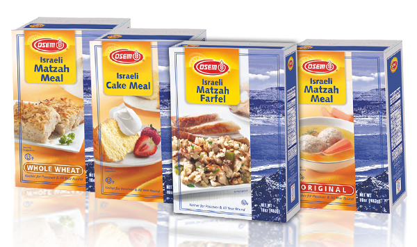 Israeli Matzah Products