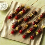 Lamb or Chicken Kebabs with Garlic, Lemon and Olive Oil