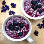 Sweet Blueberry Acai Berry Smoothie