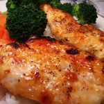 Sweet Apricot Thyme Glazed Chicken