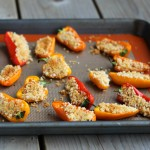 Persian Spiced Stuffed Peppers